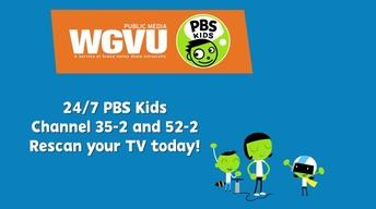 WGVU Kids Channel Re-scan