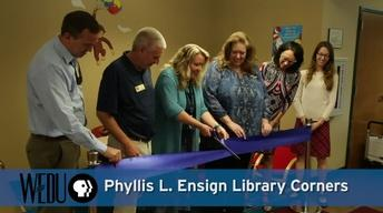 WEDU PBS Library Corners Ribbon Cuttings, Spring 2017