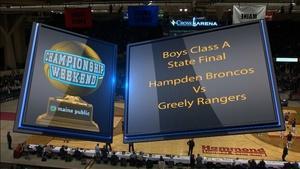 Hampden vs. Greely Boys Class A 2018 State Final