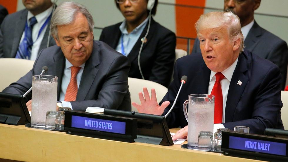 News Wrap: UN hasn't reached its full potential, says Trump image