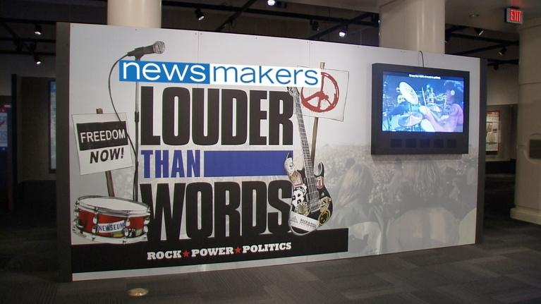 NewsMakers: Louder Than Words: Rock, Power and Politics #1802