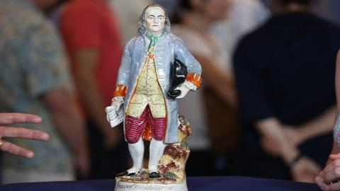 Antiques Roadshow -- Appraisal: Staffordshire Benjamin Franklin Figure, ca. 1865