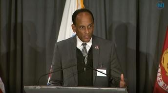 UNC Veterans Engagement:  Secretary Larry Hall