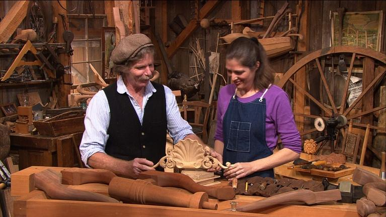 The Woodwright's Shop: Carving Away with Mary May