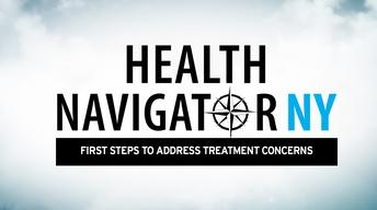 FIRST STEPS TO ADDRESS TREATMENT CONCERNS