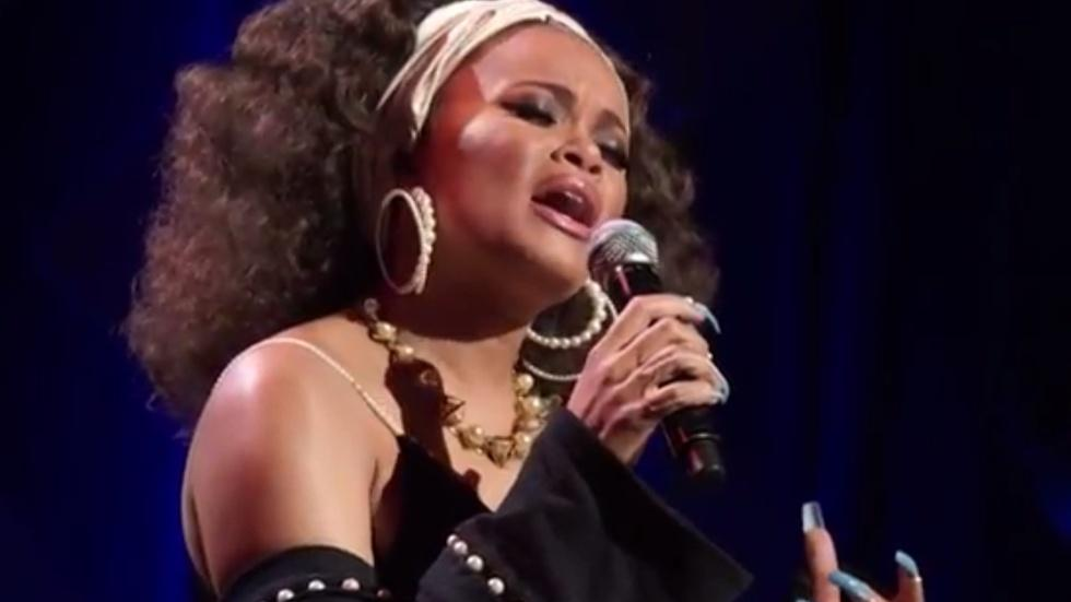 "Andra Day performs ""Mississippi Goddam"" image"
