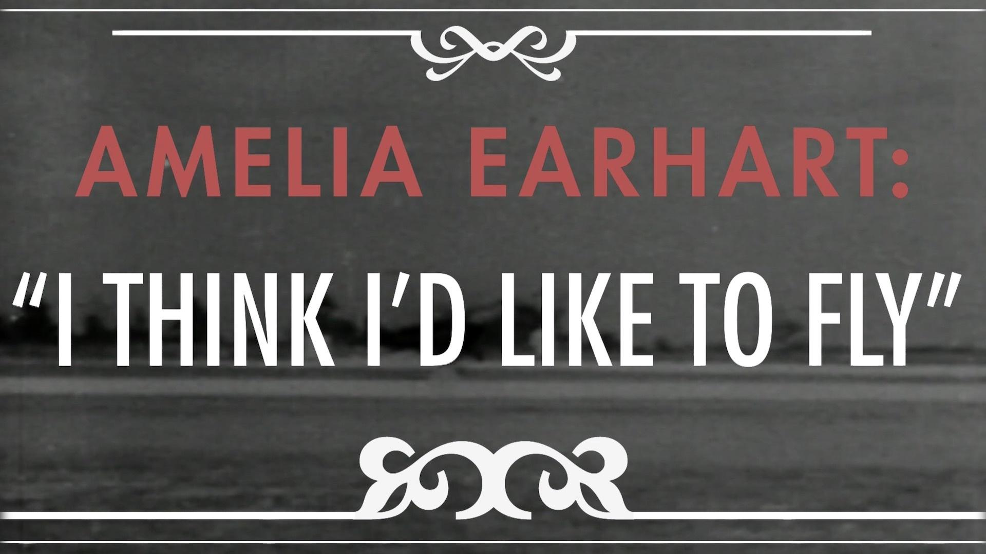 From the Vault   Amelia Earhart