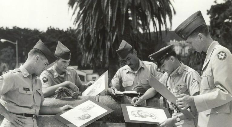 Friday Arts: A Taste of Vietnam, Combat Artists, Peter Handler