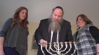Families celebrate, honor Hanukkah traditions