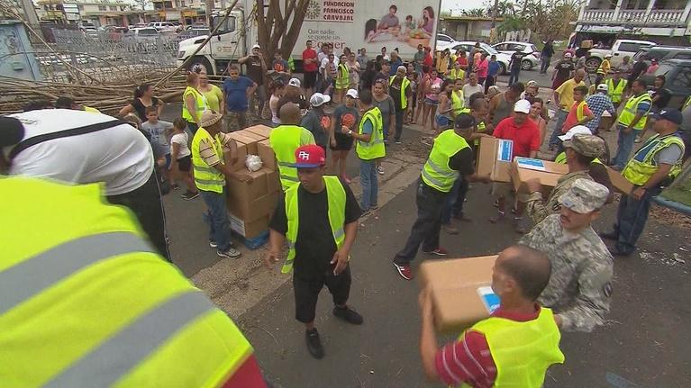 Basic Black: October 6, 2017 - Puerto Rico 2 Weeks after Hurricane Maria
