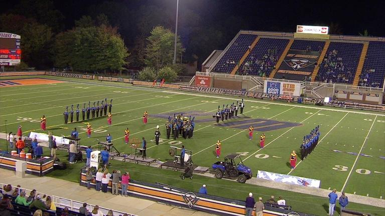Game of the Week: Westview Chargers Marching Band performs