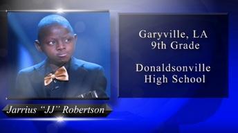 2018 Louisiana Young Heroes - Jarrius Robertson