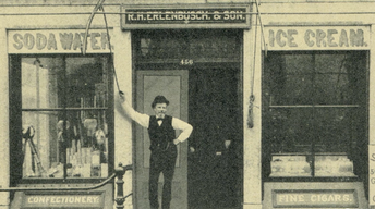 From the Vault: Erlenbusch Ice Cream Shop