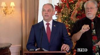 Gov. John Bel Edwards - End of Year Press Conference