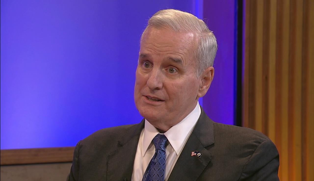 Governor Dayton Talks End of Session Deal Making