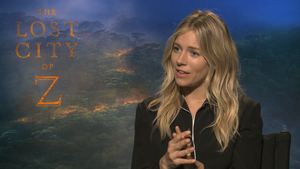 """Sienna Miller for """"The Lost City of Z"""""""