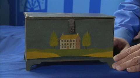 Antiques Roadshow -- S21 Ep29: Appraisal: Jonas Weber Painted Box, ca. 1850