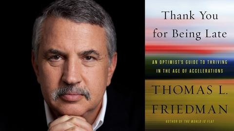 Book View Now -- Thomas L. Friedman | 2017 National Book Festival