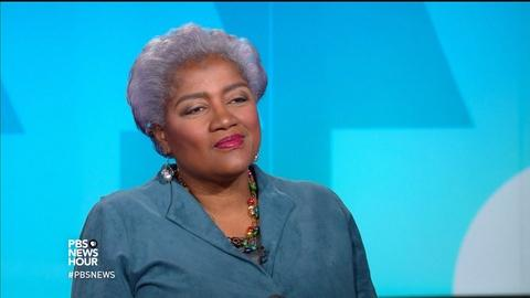 PBS NewsHour -- Brazile: Bailing out DNC gave Clinton campaign control