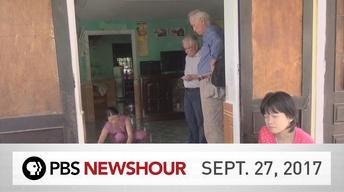 PBS NewsHour full episode Sept. 27, 2017
