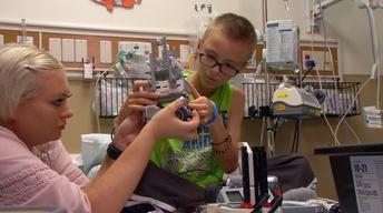 Robot Kits for Sick Children
