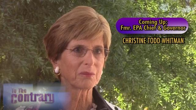 Women Thought Leaders: Christine Todd Whitman