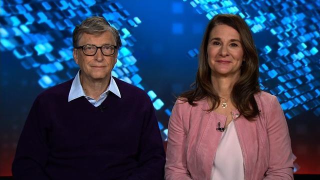 Amanpour: Bill and Melinda Gates and David Cameron