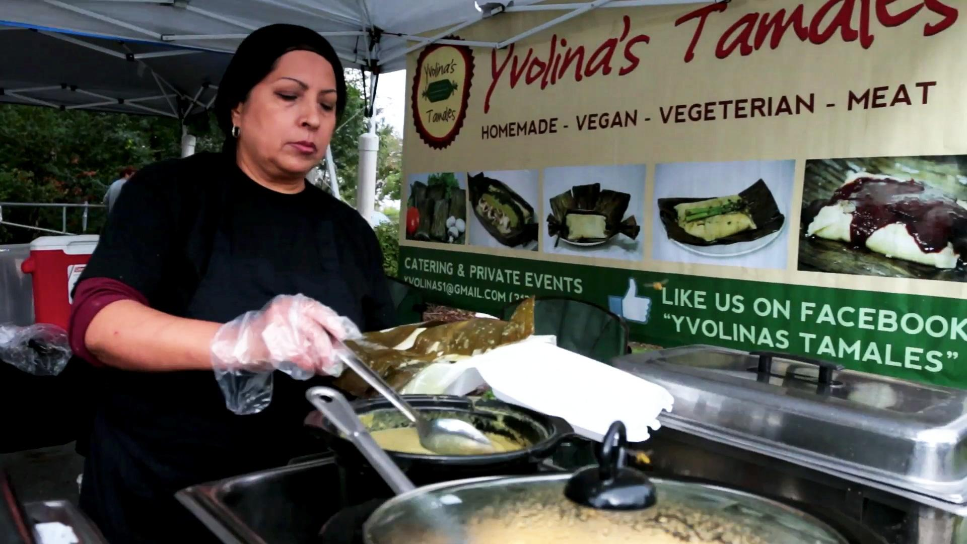 Yvolina: From Street Vendor to Restaurant Owner
