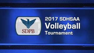 2017 Class AA High School Volleyball Semifinal Night 2