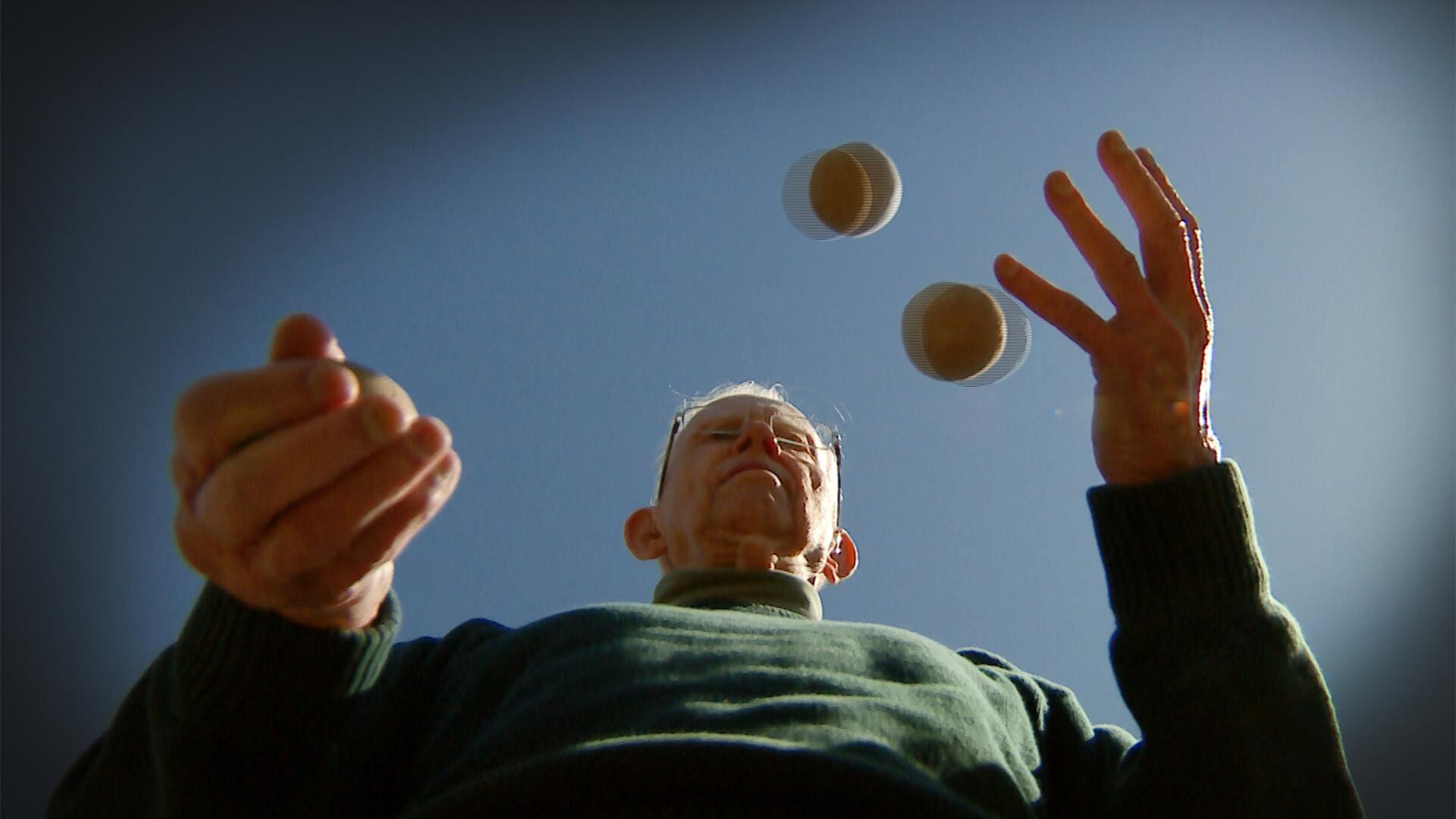 Juggle, Brain, Mr. Rogers.