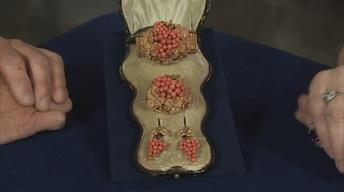 S22 Ep5: Appraisal: Victorian Coral Jewelry Suite, ca. 1860