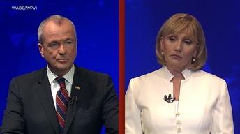 Gubernatorial candidates face off in hard-hitting debate