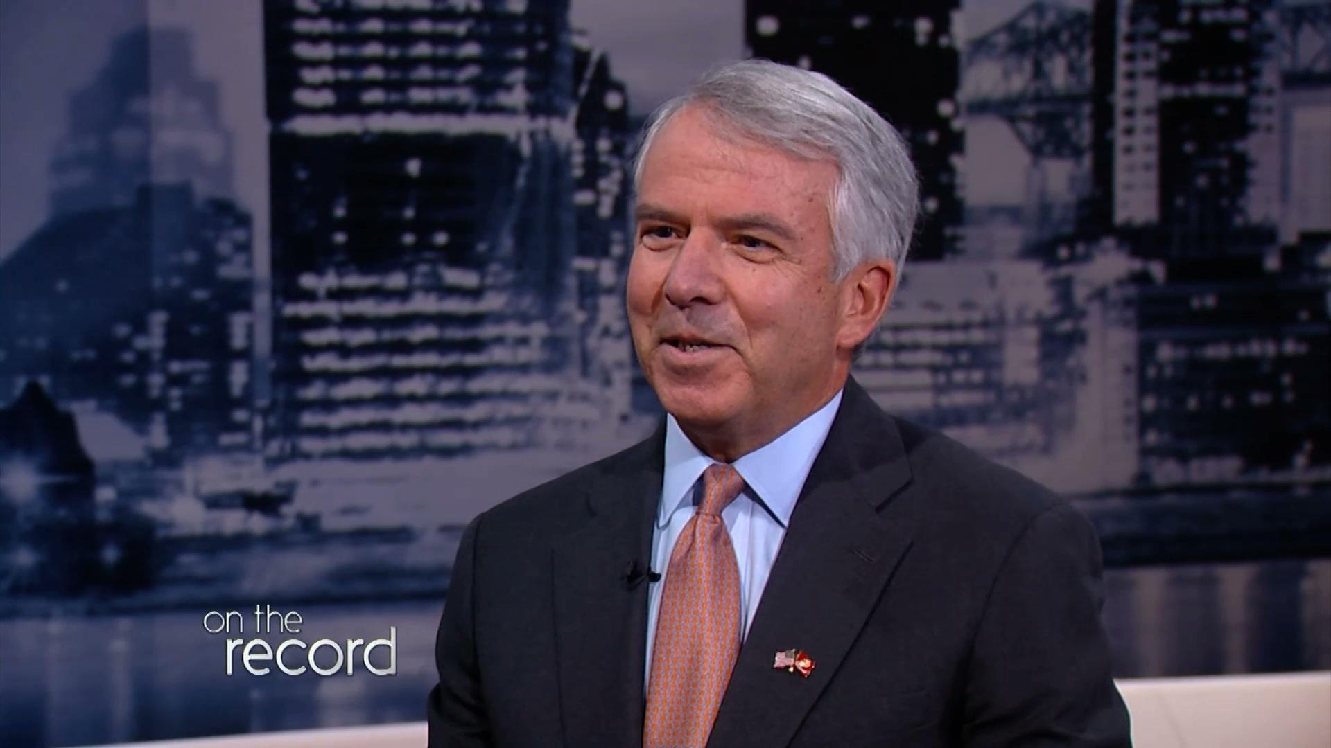 Former Celgene CEO Bob Hugin won the US Senate endorsement of the Ocean County Republican Party tonight in Toms River defeating the Ocean GOPs 2014