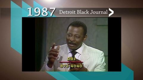 American Black Journal -- Detroit Black Journal Interview: Mel Farr