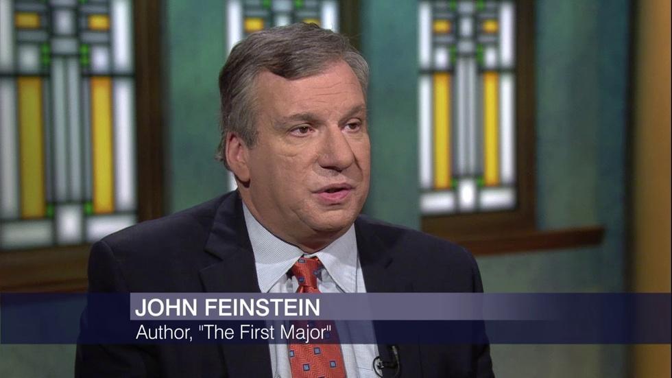 Author John Feinstein on Golf's 'First Major' image