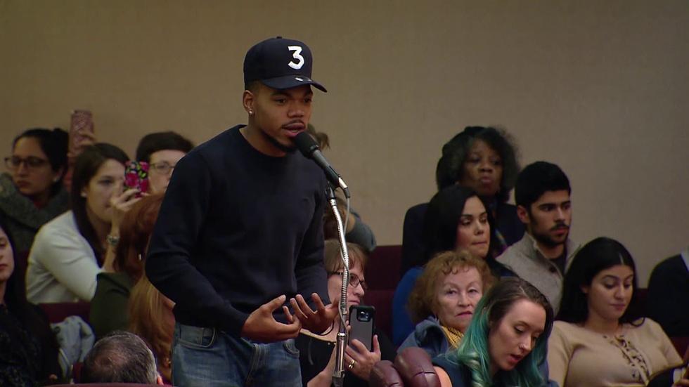 Chance the Rapper Scolds Chicago City Council image