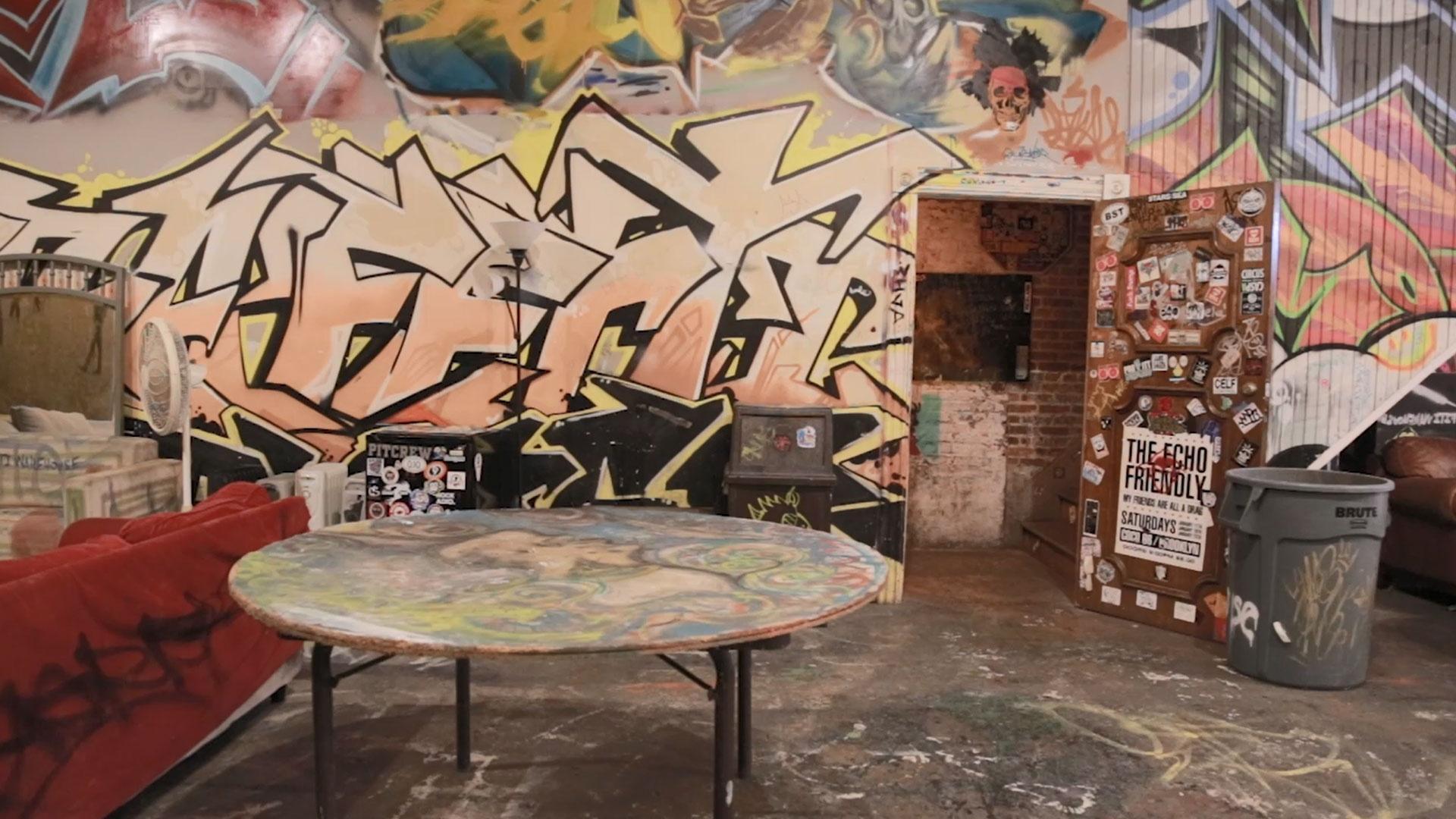 The Dig: Graffiti Warehouse