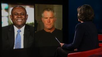 Amanpour: Fmr. NFL player Brett Favre and Dr. Bennet Omalu