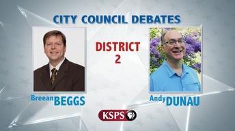 Spokane City Council District 2 Debate