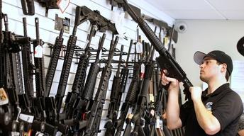 Trump defends reversal on gun purchase age limit