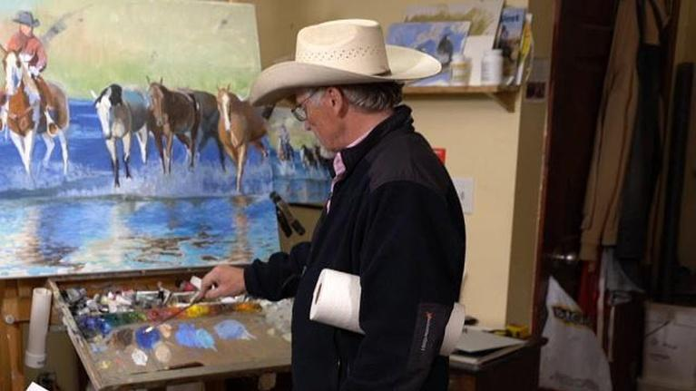 Wyoming Chronicle: J. C. Dye - Artist of the American West