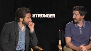 "Jake Gyllenhaal and Jeff Bauman for ""Stronger"""