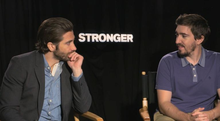 "Flicks: Jake Gyllenhaal and Jeff Bauman for ""Stronger"""