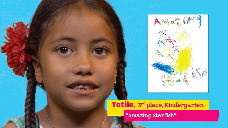 "Featuring ""Amazing Starfish"" by Tatila"