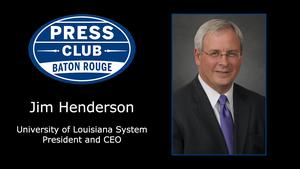 10/09/17 - Jim Henderson, University of Louisiana System