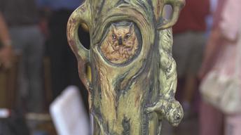 S21 Ep25: Appraisal: Weller Woodcraft Vase, ca. 1920