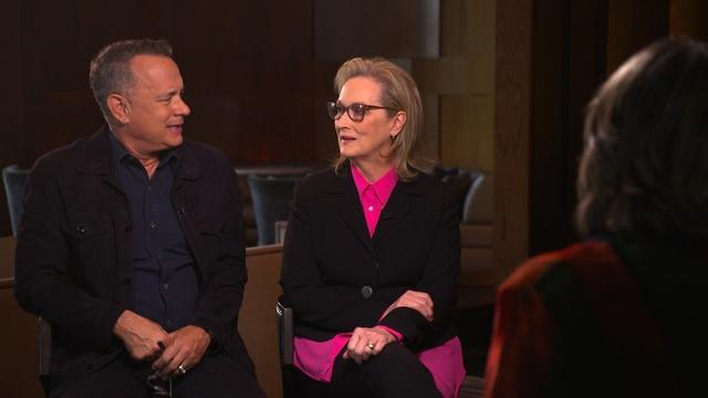 Amanpour: Meryl Streep and Tom Hanks