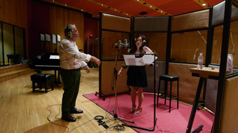 Recording the Music for the Story of China