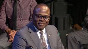 Dr. Johnson O. Akinleye, chancellor of North Carolina Centra
