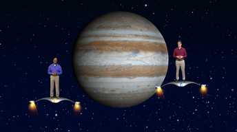 """Jupiter and Saturn"" May 29- June 4th 1 Min"